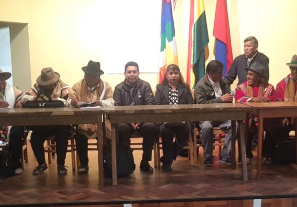 Oruro: Salinas consagró su Consejo Supremo de Mallkus con el mandato de encarar el Referendo del Estatuto Autonómico Indígena