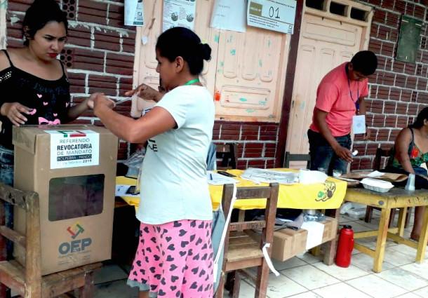 El alcalde Erlin Hurtado no fue revocado en el referendo de Bolpebra
