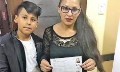 Estudiante nacida en Punata fue la primera ciudadana boliviana en realizar su registro biométrico en Buenos Aires