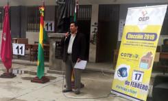 El TED Oruro inaugura la elección de consejeros de Administración y de Vigilancia de Coteor