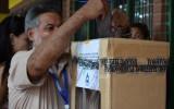 Santa Cruz: COSPHUL vive  una jornada tranquila en la elección de sus consejeros