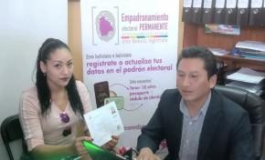 Chile: 382 bolivianas y bolivianos se empadronaron en Arica