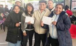 Argentina: Martha Araníbar y Goldy Cuba por primera vez ejercerán su derecho al voto como ciudadanas bolivianas