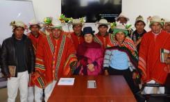 La Paz: el SERECI rehabilitará una oficina de registro en el ayllu Amarete de la nación Kallawaya