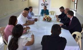 El TED Santa Cruz y la Unión Europea intercambian información sobre el trabajo en la consolidación de una democracia en Bolivia