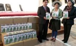 Chuquihuta recibe 3.300 ejemplares de su Carta Orgánica con miras al Referendo Autonómico de mayo