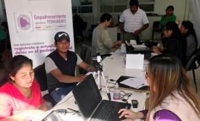 Argentina: brigadas móviles del TSE registraron a 422 personas durante el fin de semana en Buenos Aires