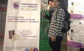 Argentina: habilitan un punto de empadronamiento permanente en el barrio Liniers, Buenos Aires