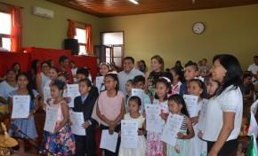 Pando: 34 niñas y niños de Cobija y Porvenir  recibieron credenciales como autoridades infantiles electas