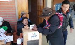 El TED Chuquisaca destaca la tranquilidad en el desarrollo del Referendo Autonómico en Alcalá