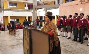 La Paz: ocho estudiantes del colegio San Juan Tarde asumen sus funciones como gobierno estudiantil