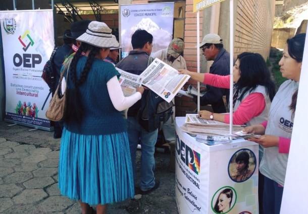 Referendo Autonómico: Pelechuco termina la socialización de su Carta Orgánica; en Sorata y Cajuata el trabajo se hace de forma personal