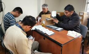 El TED La Paz concluyó la producción de las 105 maletas electorales para el Referendo Autonómico
