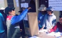 La Paz: en Sorata, Cajuata y Pelechuco el Referendo Autonómico transcurre con tranquilidad