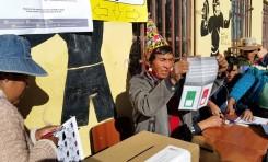 Potosí: en Chuquihuta cierran las mesas de sufragio y el TED destaca la tranquilidad de la jornada