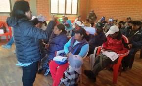 Referendo Autonómico: el TED Oruro comenzó la capacitación de las y los jurados y notarios electorales en Salinas