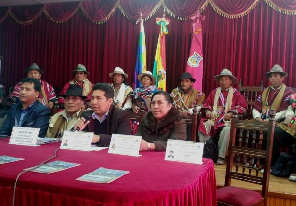 El TED Oruro tiene todo listo para el Referendo del Estatuto Autonómico Indígena de Salinas