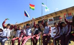 Cochabamba: el colegio 2 de Agosto eligió a su gobierno estudiantil a través de sus normas y procedimientos propios