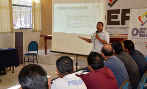El marco normativo para las Elecciones Generales es socializado a medios de comunicación y organizaciones políticas en Pando
