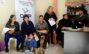 El TED Chuquisaca capacita a notarias y notarios electorales en el área rural del departamento