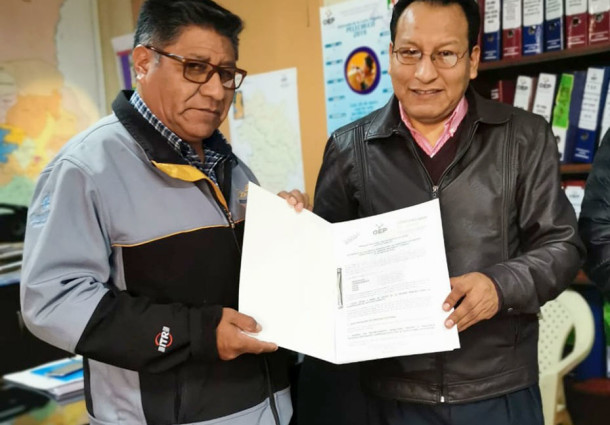 El TED La Paz entrega resultados oficiales del referendo sobre la Carta Orgánica de Pelechuco