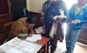 Socializan la democracia intercultural con reporteros populares de Potosí
