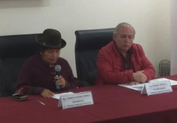 Elecciones Generales: el TSE cierra el empadronamiento con 1.086.179 personas registradas en Bolivia y en el exterior
