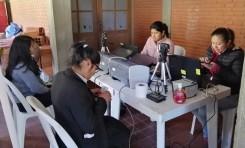 A cuatro días de terminar el empadronamiento masivo, en Chuquisaca se registraron 31.568 personas