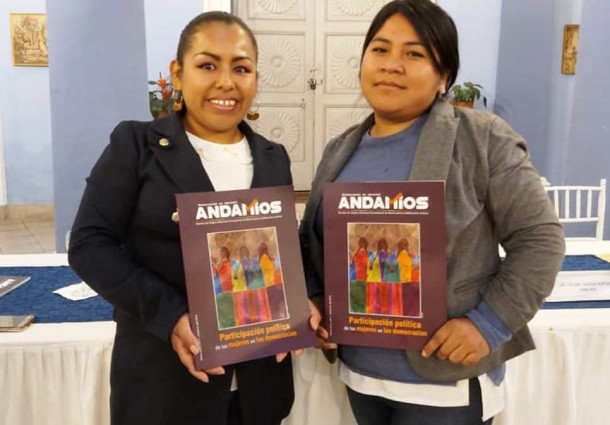 Cochabamba: presentarán la revista Andamios N° 8 que analiza la participación política de las mujeres
