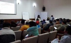 El TED Tarija capacitó a las y los jurados de mesa para la elección en COSAALT