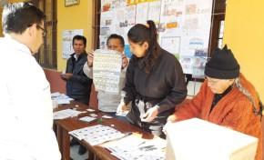 Tarija: la elección de consejeros de COSAALT inicia con el total  de mesas abiertas