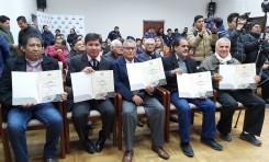El TED Tarija entrega credenciales a diez consejeras y consejeros electos de COSAALT
