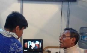 La Paz: el OEP expone los Testimonios de las democracias en Bolivia en la Feria del Libro