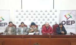 El TSE aprueba la sustitución de binomios presidenciales en prevalencia de los derechos políticos de la ciudadanía