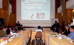 Cochabamba: socializan con más de 50 periodistas el reglamento de propaganda y campaña para las Elecciones Generales de 2019