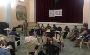 El TED Cochabamba realiza talleres de socialización sobre las Elecciones Generales en siete municipios