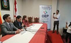 Sucre: organizaciones políticas firman un compromiso para cuidar el patrimonio histórico durante las Elecciones Generales