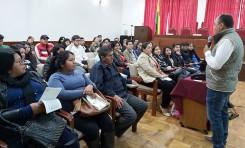 TED Tarija: avanza la capacitación a facilitadores, capacitadores y coordinadores para las Elecciones Generales 2019