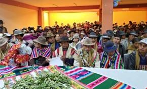 El Jach'a Tantachawi se convierte en la máxima autoridad originaria en Salinas