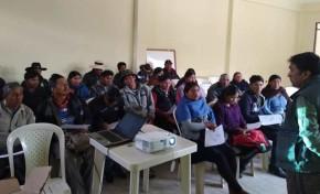 Potosí: concluye la capacitación de 520 notarias y notarios del área rural para las Elecciones Generales