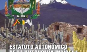 Salineños redactaron su Estatuto con la mirada puesta en la descentralización administrativa