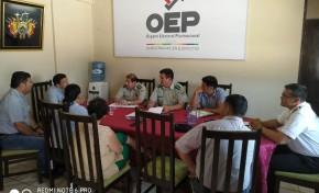Beni: las Fuerzas Armadas y la Policía Nacional coadyuvarán en el resguardo de las maletas electorales
