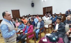 Tarija: socializan con más de 50 periodistas el Reglamento de propaganda y campaña para las Elecciones Generales
