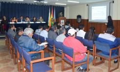 El TED Cochabamba socializó el Reglamento de Fiscalización con 12 organizaciones políticas