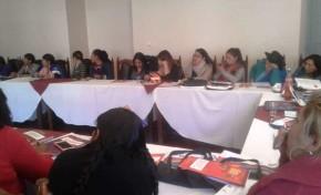 Elecciones Generales: cerca de 50 candidatas en Chuquisaca participaron en el taller de fortalecimiento en sus capacidades de liderazgo