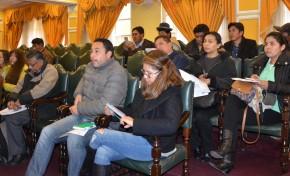 El TSE realiza talleres para la presentación de estados financieros de las organizaciones políticas