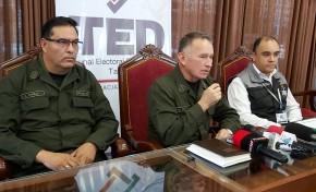Elecciones Generales: el Presidente del TED Tarija destaca asistencia del electorado a  los recintos