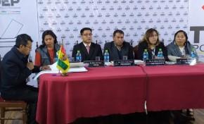 La Sala Plena del TED Potosí inicia el cómputo departamental