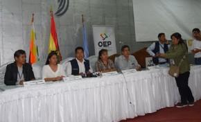 En Cochabamba concluyó el cómputo oficial de las 6.134 actas electorales