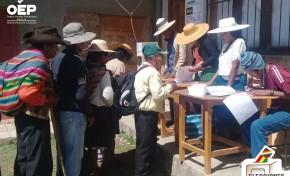 En Potosí habilitan cinco puntos para la entrega de certificados de impedimento a personas que se encuentran en tránsito